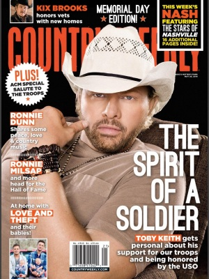 Toby Keith on the Cover of Country Weekly